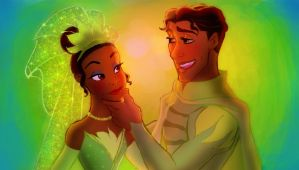 Princess and the frog  when we humans by Kevsoraone