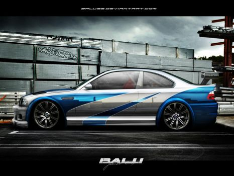 BMW M3 Most Wanted by Balu32