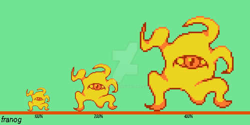 NES Palette Enemy by FranoG