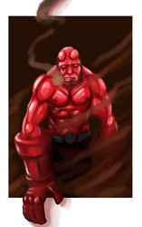 Hellboy2 by Mercvtio