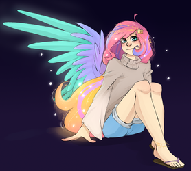 Starry Sunrise (Gift) by ChibaDeer