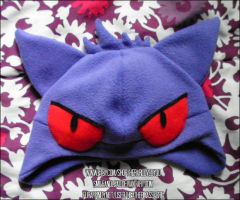Gengar Hat by SmileAndLead