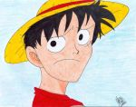 Luffy by darkraven2116