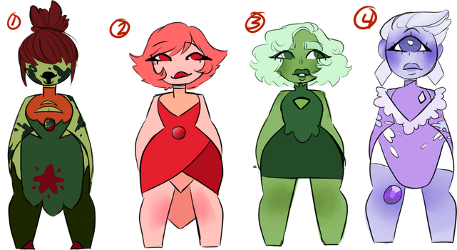 [Adopts] Gem Adopts (CLOSED) by Plantmatsu