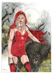 Red Riding Hood Sexy by Verlei