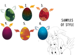 Variety Egg Adoptables by Naughty-Pixels