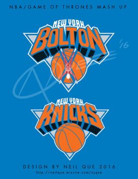 New York Boltons/Knicks mash up by DAA-TRUTH