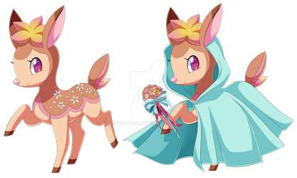 Deerling Mage by Centchi