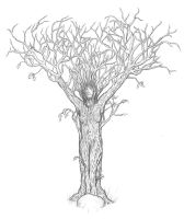 Lady In The Tree Final by bryssis