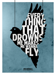 Everything that drowns me makes me wanna fly by SkipperArt