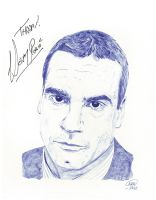 Henry Rollins by opeyuvadown