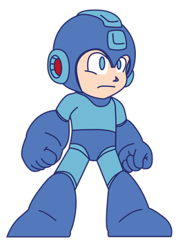 Megaman-Hd by BerserkerOx