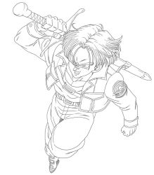 Trunks. :Practice: by moxie2D