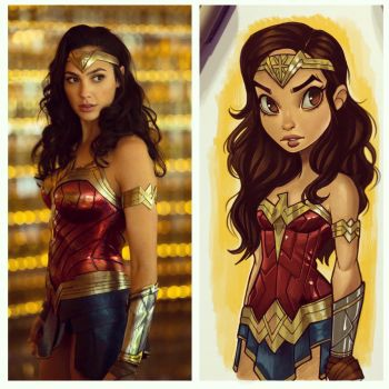 Wonder Woman WW84 by ChrissieZullo