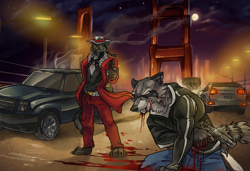 Rogue Animals: CH 1: Foot In The Grave (C) by AwesomeCALIArtist