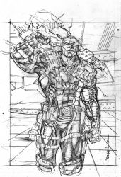 UD legendary CABLE by Kevin-Sharpe