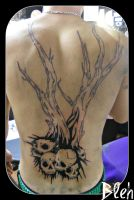 Dominics back first session by flyingants
