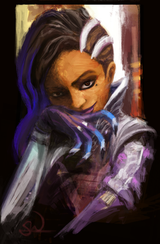 Sombra Portrait by Sadhira