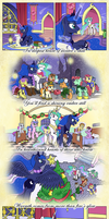 Comic - Hearth's Warming for Luna by muffinshire