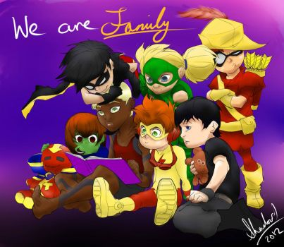We Are Family by unleashtheshadows