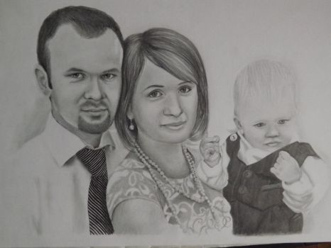 Little family by norabalog