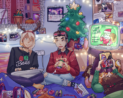HAPPY HOLIDAYS 2 by omoulo
