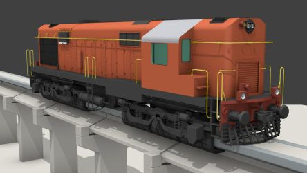 Indian WDM Train Maglev Mix WIP3 by ToTac