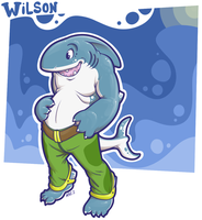 Wilson's Shark Form by KazJester