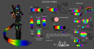 Ver 1. Kandi Raver Color Chart by Alekdrina