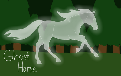 Story Title: Ghost Horse by AlliKitz