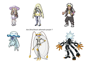 Pokemon Theory: Ultra Beasts equals people? by StrandedGeek