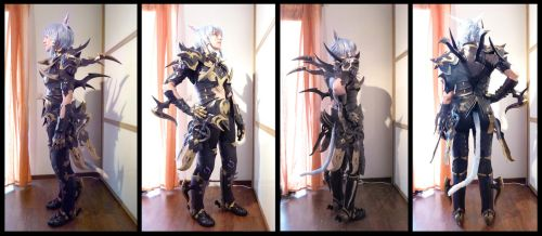 FFXIV Dragoon Cosplay Armor Update by Evil-Siren