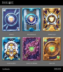 Duelyst : Cardbacks by 152mm