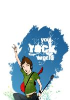 You rock my world by kreska