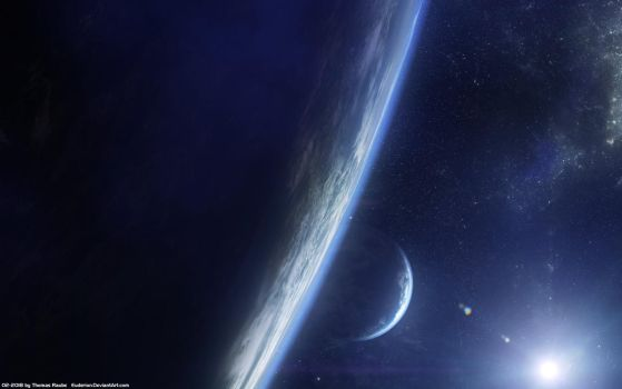 Two Planets Stock by Euderion