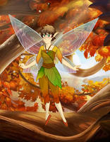 Pixie Hollow Fairy by Thea0605