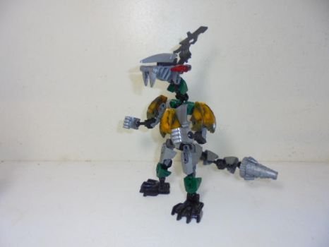 LEGO Bionicle Dragonzord by Eli-J-Brony