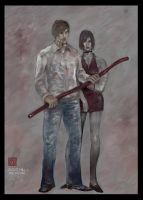Silent Hill 4 - The Room by puppetbear