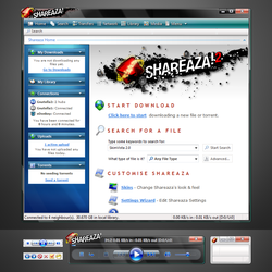 Shareaza SkinVista 2.0 RC by Hypewise