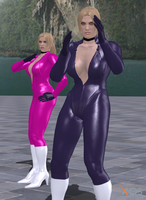 Nina Williams (Tekken 4 2P Mod v0) by robot-god
