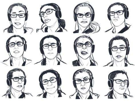 Expressions exercise 1 by GoldenTar
