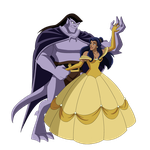 Goliath and Elisa tale as old as time by Lunamidnight1998