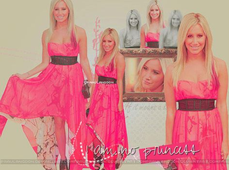 I am not princesss {Ashley Tisdale} Blend * by paaulangdon
