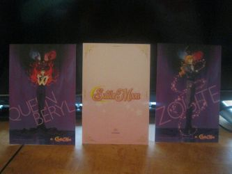 Sailor moon cards set 1 back by starfire9467