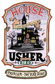 House of Usher Beer by SaintAlbans