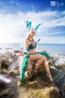 Final Fantasy X: Yunalesca II by ellenlovely