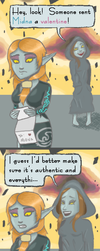 Midna and Zant:  V-Day Madness by Linkette