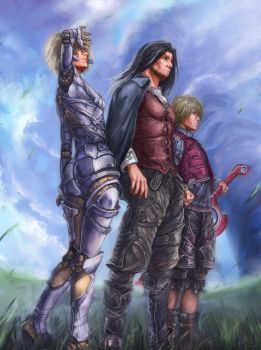Xenoblade Beyond the sky by EduardoGaray