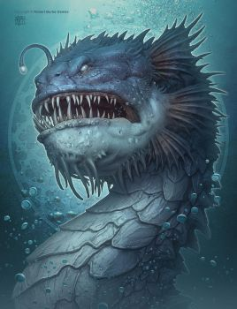 Deep Sea Dragon by kerembeyit