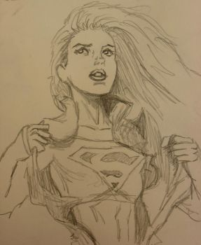 Supergirl Unleashed by ChristyTortland